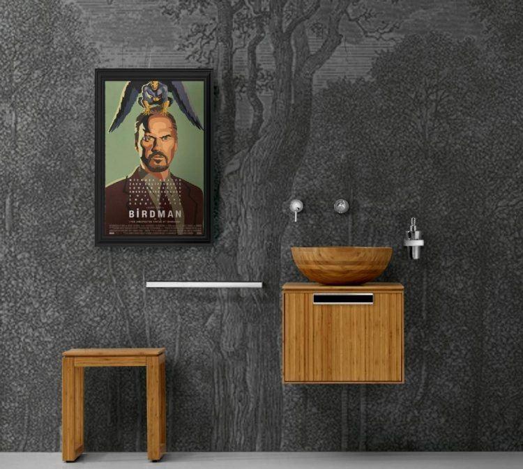 bambu muebles ideas texturas paredes grises