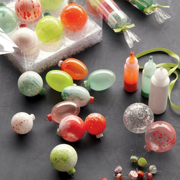 Como decorar bolas de navidad mucho ms fcil que el del ao - Bolas para decorar ...
