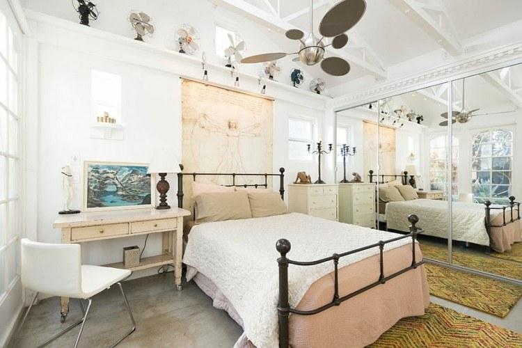 bonito dormitorio estilo retro