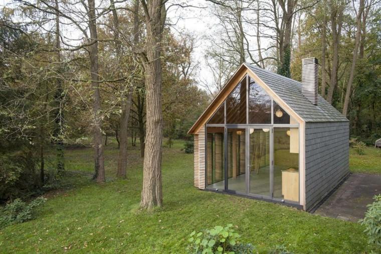 cabañás prefabricadas madera casas pequeñas