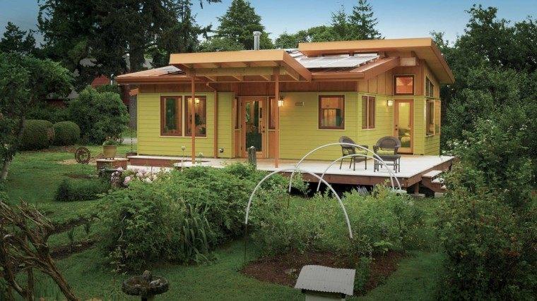 Casas pequeñas con encanto   38 modelos que enamoran