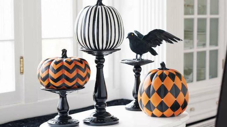 Calabaza de halloween 25 ideas incre blemente elegantes - Calabazas de halloween pintadas ...