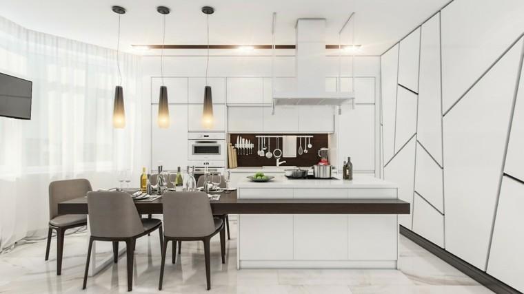 calido cocinas diseño respaldo gris