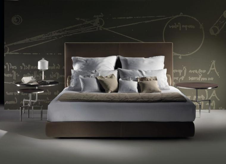 cama moderna modelo firma flexform