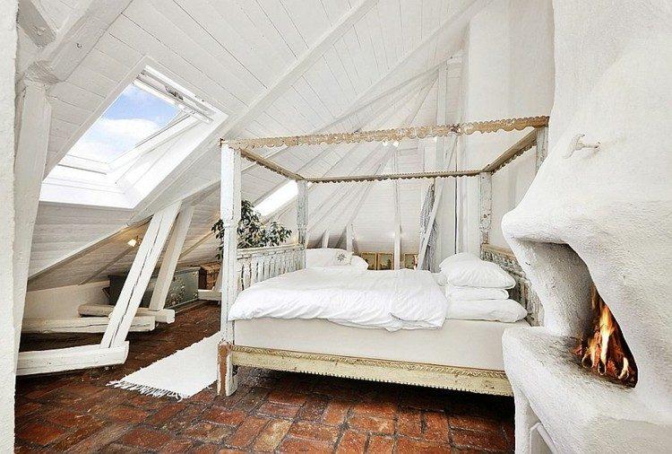 cama doseles estilo shabby deco