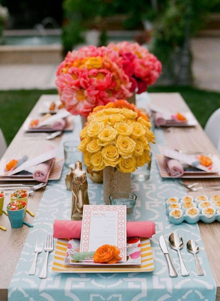caminos de mesa ideas para decorar la mesa