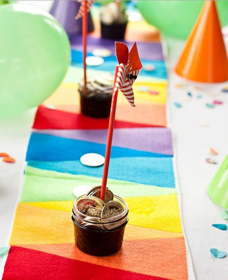 caminos de mesa colores vibrantes ideas