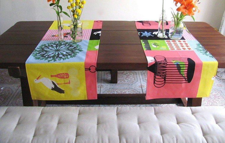 Caminos de mesa: 35 ideas para decorar la mesa