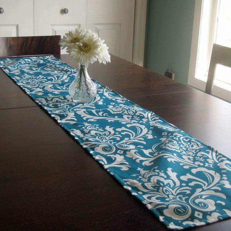 Caminos de mesa 35 ideas para decorar la mesa - Camino a casa decoracion ...