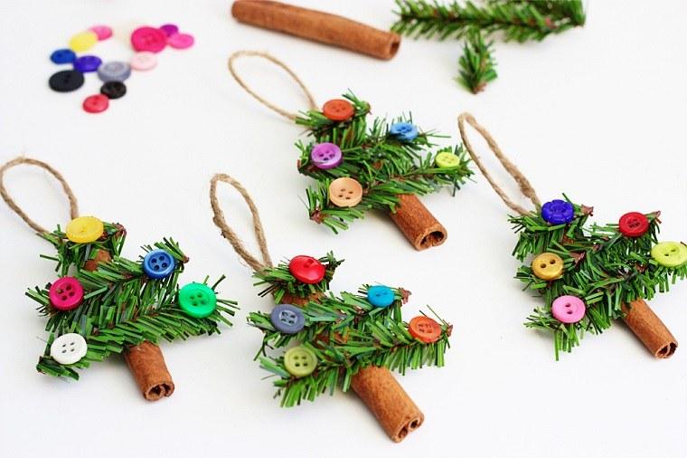 canelas decorativos arbolitos simples