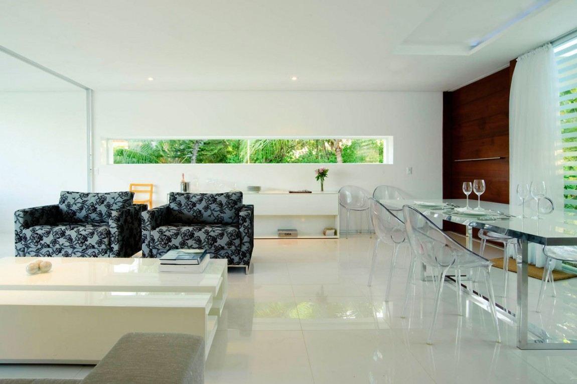 casa blanca preciosas Bento e Azevedo Arquitetos Associados ideas
