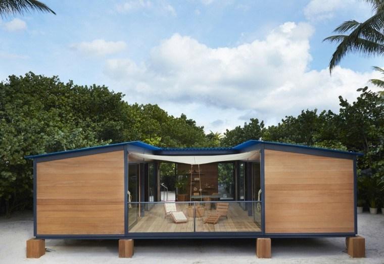 Casas peque as con encanto 38 modelos que enamoran for Beach house kit designs