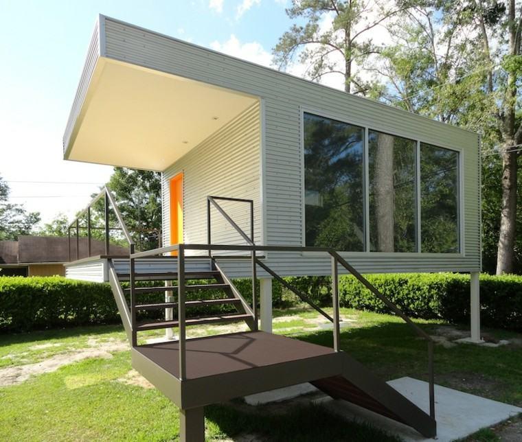 casas pequñas diseño contemporáneo