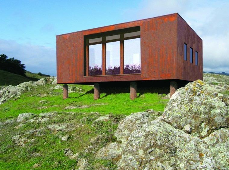 diseño casas pequeñas estilo contemporaneo