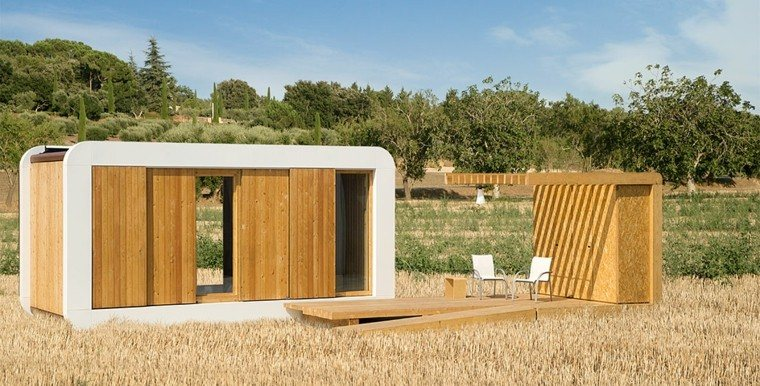 casas pequeñas orginal diseño madera