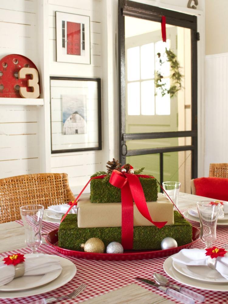 cena de navidad centros de mesa regalo ideas