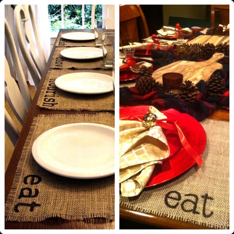 cena de navidad centros de mesa vintage ideas