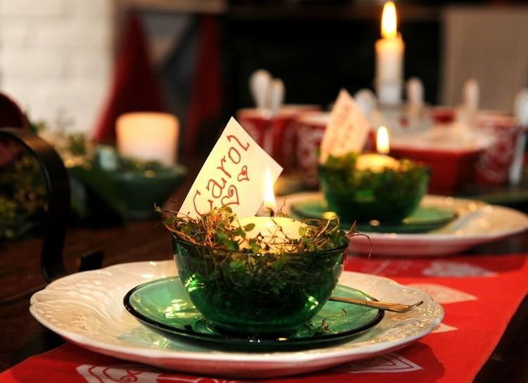 cena de navidad ideas creativas lugares manteles