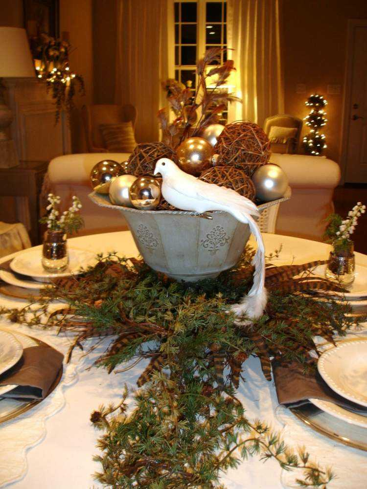 cena de navidad ideas creativas manteles calido