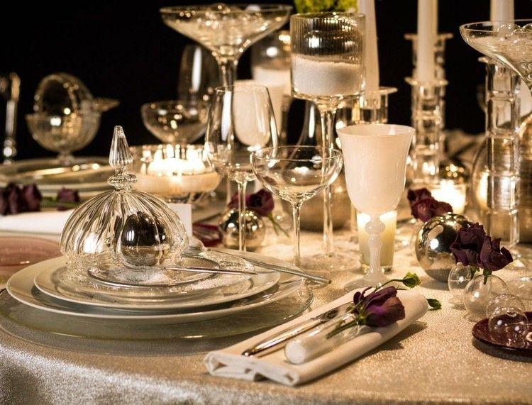 cena navidad centros mesa pura belleza ideas