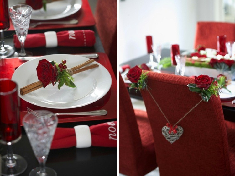 Cena de navidad centros de mesa navide os muy bonitos - Mesas de navidad decoradas ...
