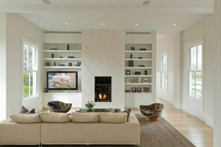 Chimeneas modernas calor y estilo para el sal n - El mueble chimeneas ...