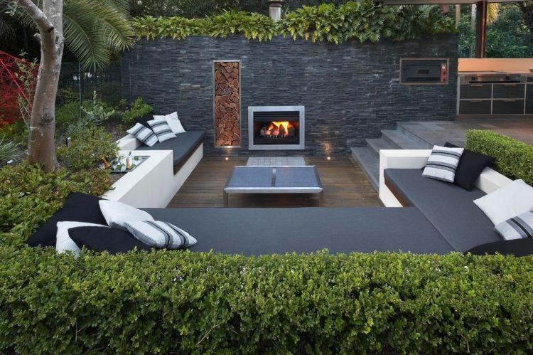 chimeneas de leña estilos variantes fuego muro