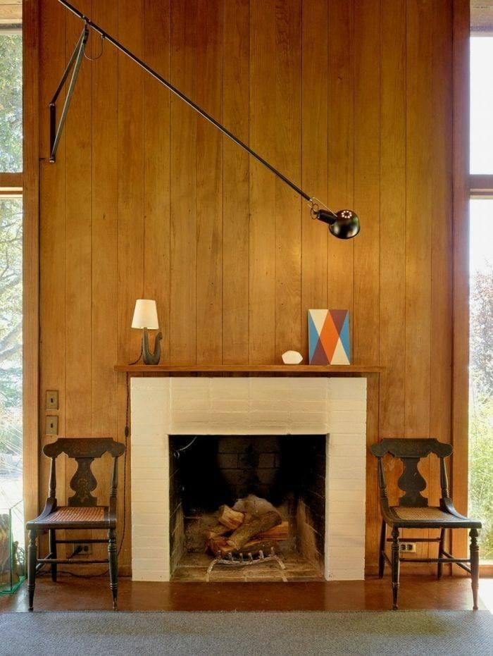 Chimeneas modernas para salas de estar exquisitas - Chimeneas de obra ...