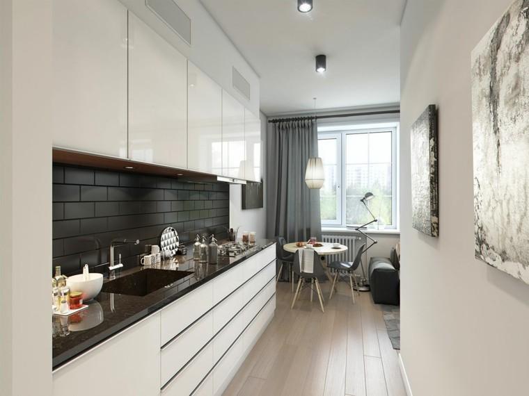 cocinas deseño estilo diferente moderno estantes