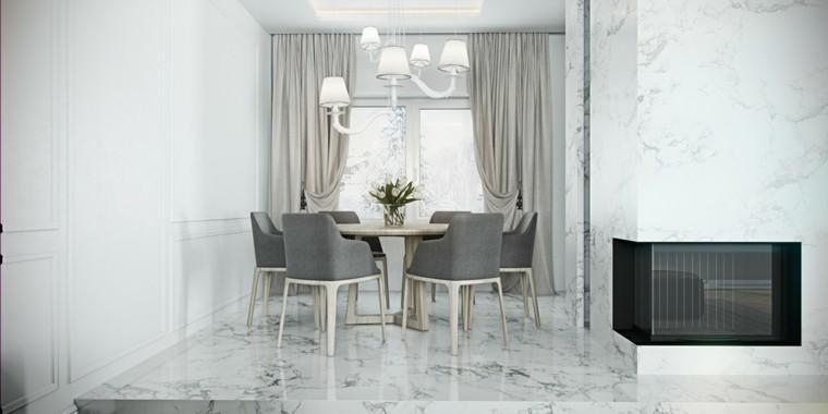 color blanco decoracion chimeneas claro
