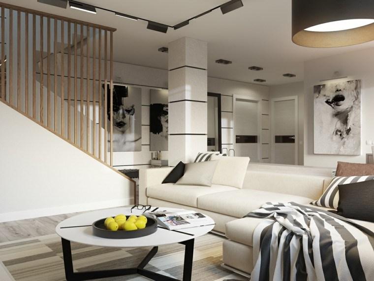 color blanco decoracion cuadros textiles