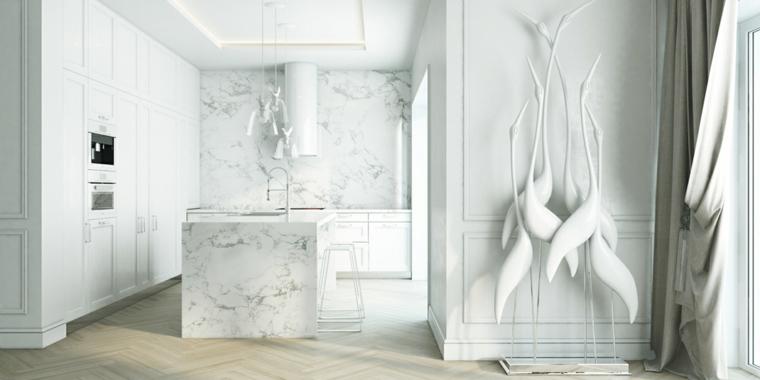 color blanco decoracion marmoles accesorios
