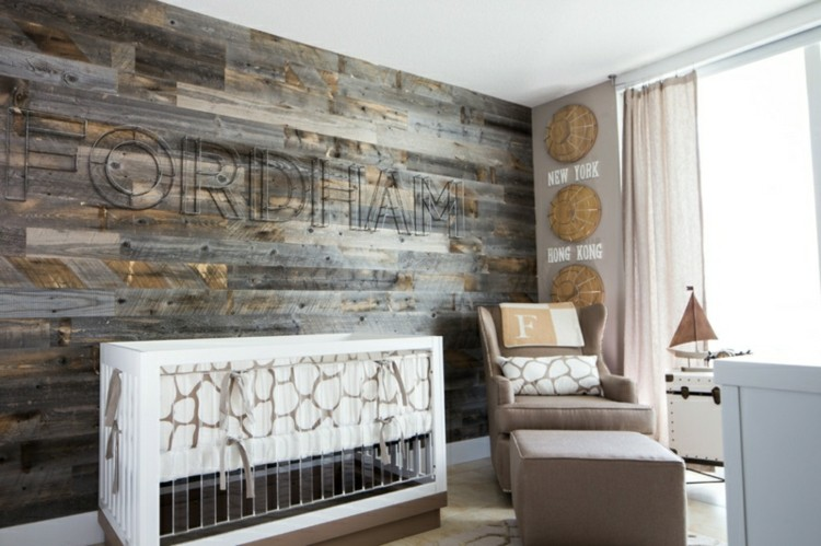 color blanco habitacion bebe madera sitios