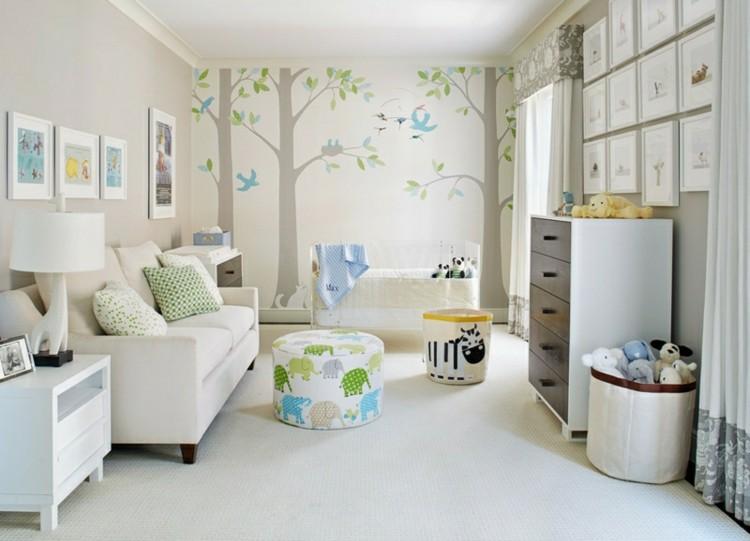 Color blanco en habitaciones de beb s ideas deslumbrantes - Colores habitacion bebe ...