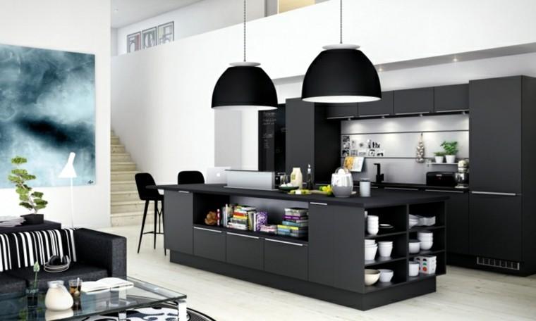 color negro ideas cocinas decoracion cuadros