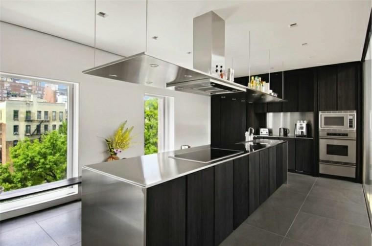 color negro ideas cocinas plantas jardines