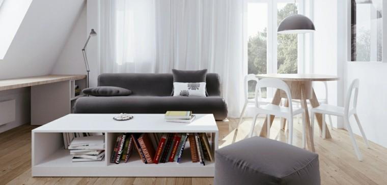 colores intenso estilo maderas gris libros