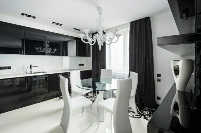 colorido cuadros blanco contrastes muebles