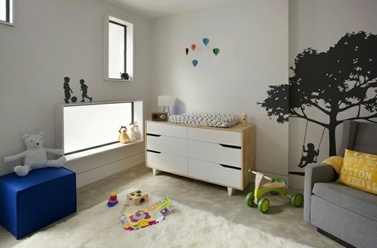 colorido espacio bebe decoracion casa diseño