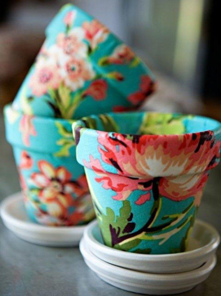 colorido ideas detalles platos flores