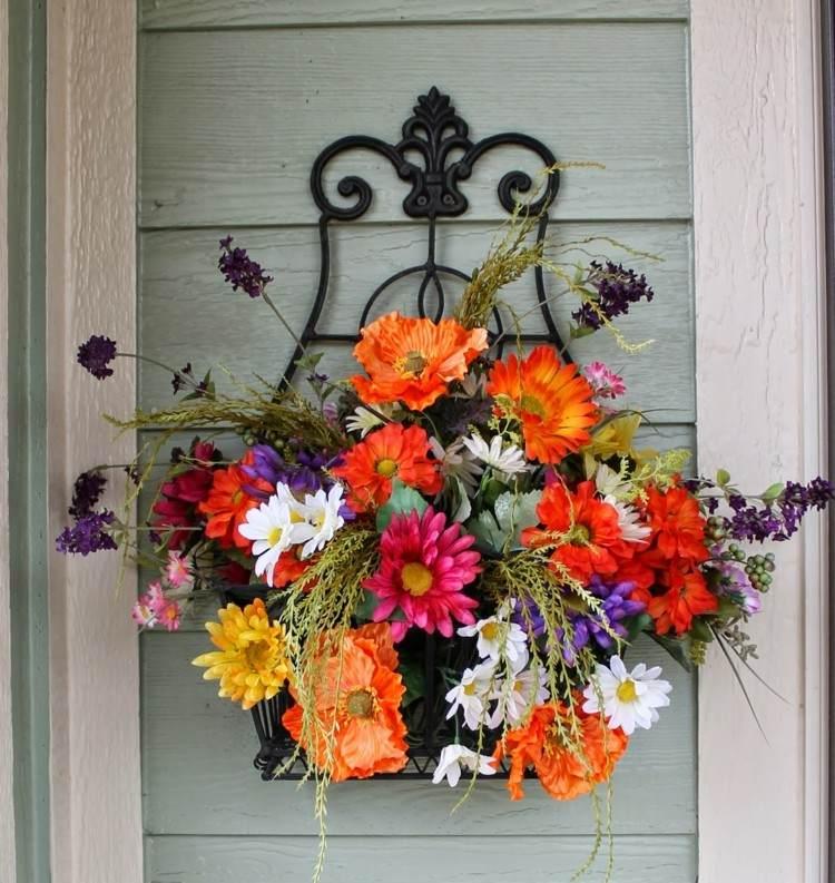 colorido vivo ideas forja paredes puerta