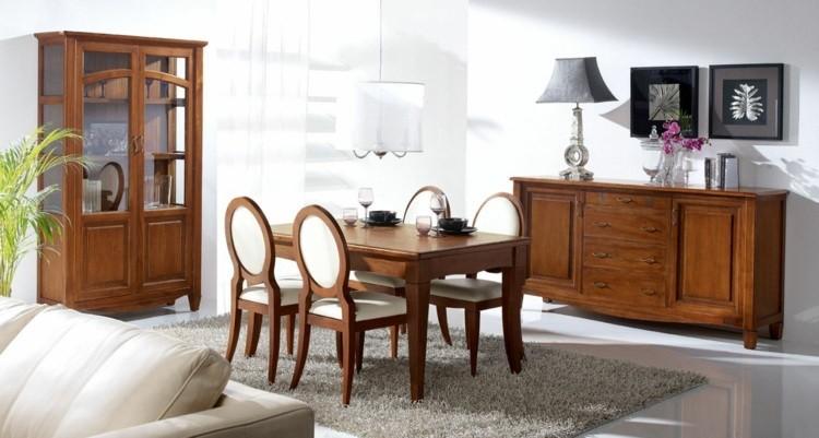 comedor ideas elegir forma color alfombra gris modernos
