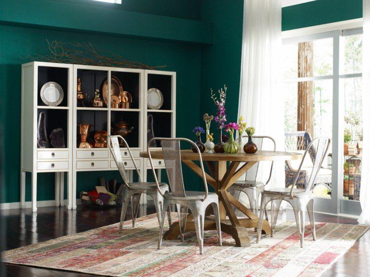 comedor ideas elegir forma color alfombra motivos preciosos modernas