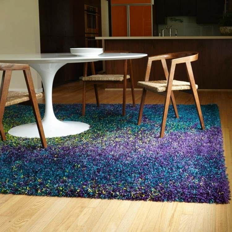 comedor ideas elegir forma color alfombra original moderna