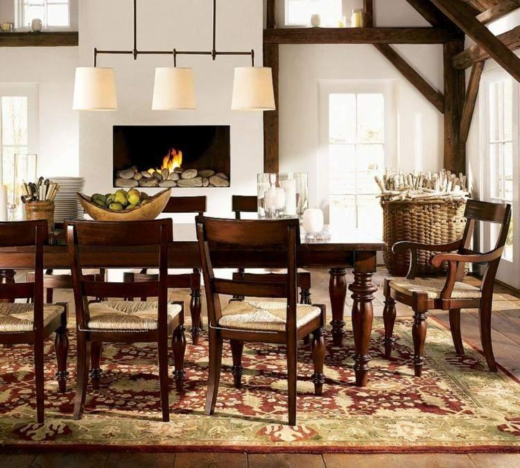 comedor ideas elegir forma color alfombra rustico moderno