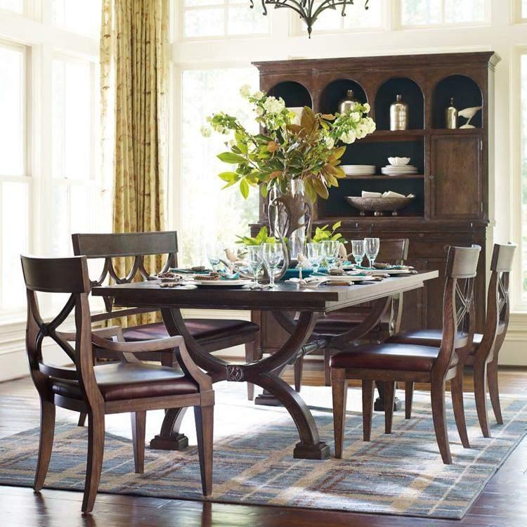 comedor ideas elegir forma color alfombra centro mesa precioso ideas