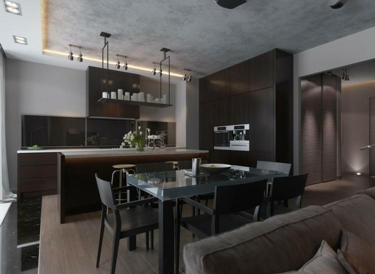 Muebles De Comedor De Colores Oscuros 50 Ideas