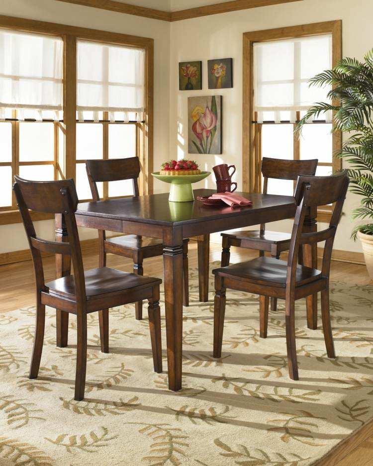 comedores ideas elegir forma color alfombra estampa ramas ideas