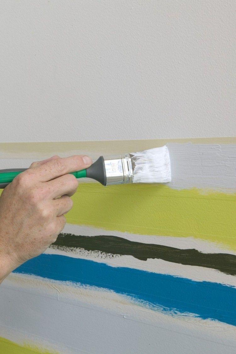 Decoracion de paredes las 50 tendencias m s actuales - Bandas protectoras de paredes ...