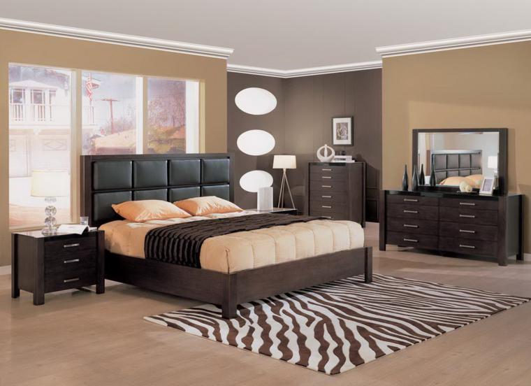 Muebles dormitorio de estilo moderno 25 ideas for Dormitorios de madera modernos